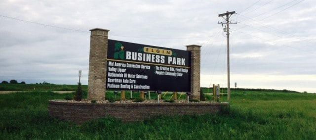 Business Park sign 1